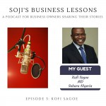 SBLs 003: Soji's Business Lessons Podcast Episode 3