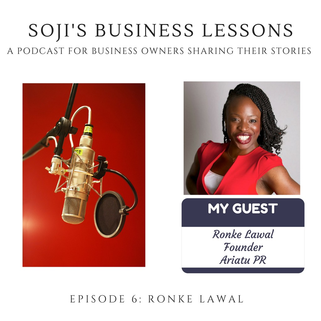 Ronke Lawal - EPISODE 6 SOJI'S BUSINESS LESSONS (2)
