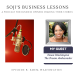 SBLs 008: Soji's Business Lessons Podcast Episode 8